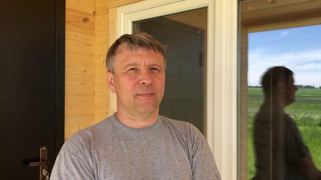 Каркасный дом во Владимирской области 7х10 - отзыв клиента