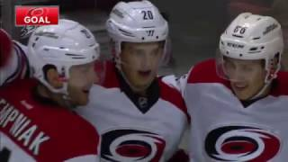 The other Finnish rookie: Hurricanes Aho shows breakaway brilliance