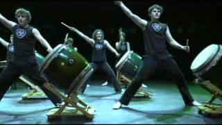 "Kagemusha Junior Taiko perform ""The Gift"""
