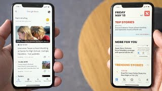 Video Google News vs. Apple News on iOS download MP3, 3GP, MP4, WEBM, AVI, FLV Juni 2018