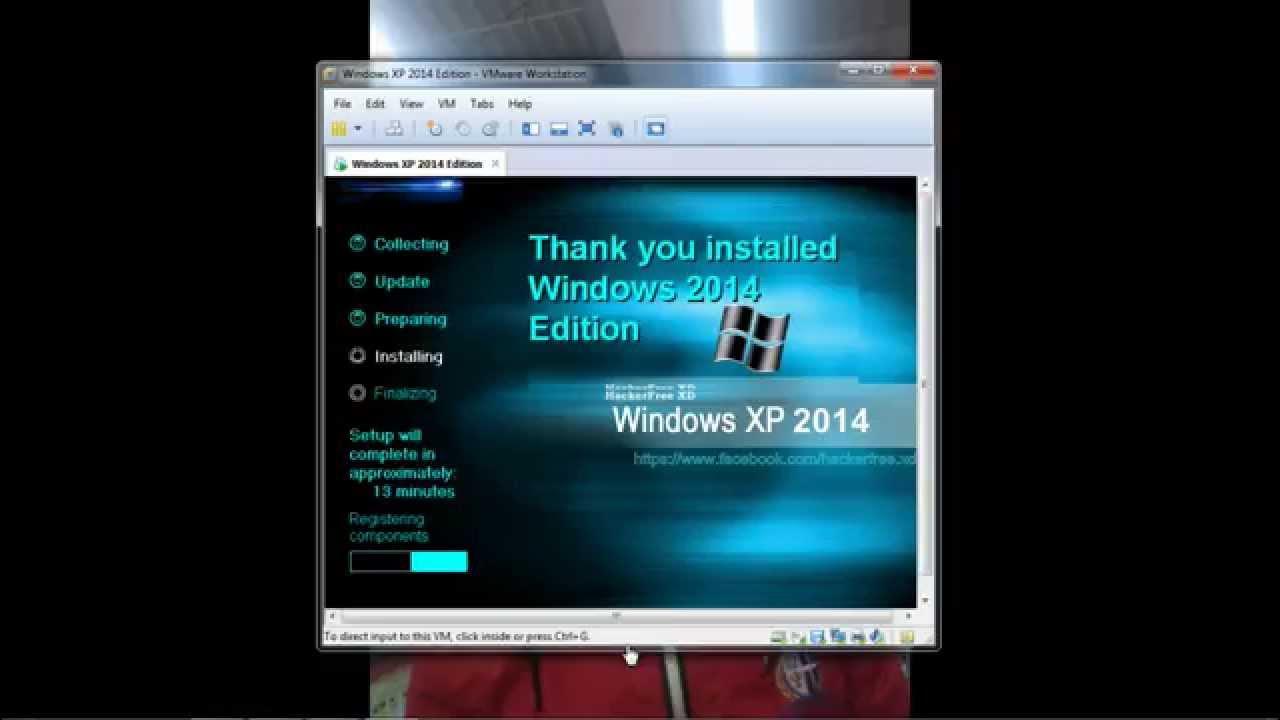 windows xp sp3 破解