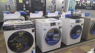Cập nhật Giá máy giặt Aqua cửa ngang 8kg, 8.5kg, 9kg, 9.5kg, 10.5kg đầu xuân 2021