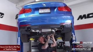 From Stock to Not: AWE Touring Exhaust For BMW 335i/435i F3X  [F30/F32]