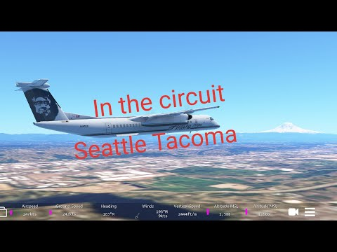 Seattle Tacoma - In the circuit - Dash 8 Q400 - Infinite Flight