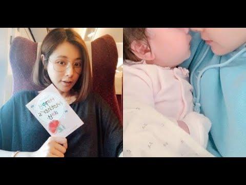 陳怡蓉6個月大愛女首曝光「長得和爸爸超像」 忙顧女兒不忘陪老公「超有愛畫面」閃翻眾人