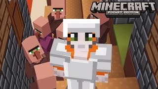 Minecraft: Pocket Edition - Trading With Villagers - No Home Challenge