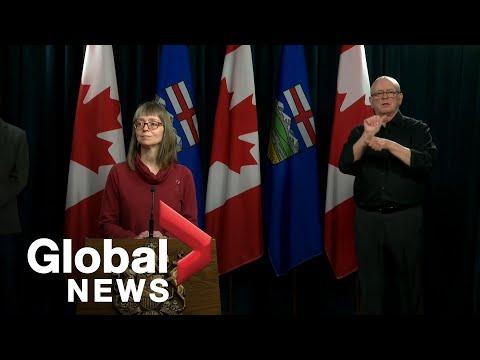 Coronavirus outbreak: Alberta officials announced second COVID-19 death in province   FULL