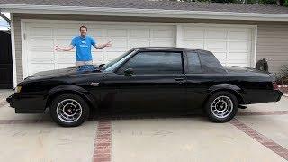 Buick Grand National - это крутейший маслкар 80-х