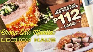 Cheap Eats Manila: Lechon Haus SM Manila Lechon Belly Lechon Sinigang by HourPhilippines.com