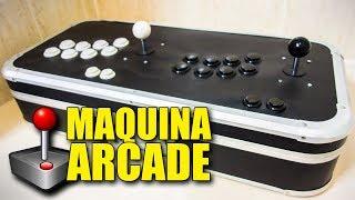MAQUINA ARCADE CASERA | Mesa Bartop Portable con Raspberry Pi 3