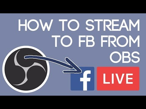 Go Live On Facebook With Obs Youtube