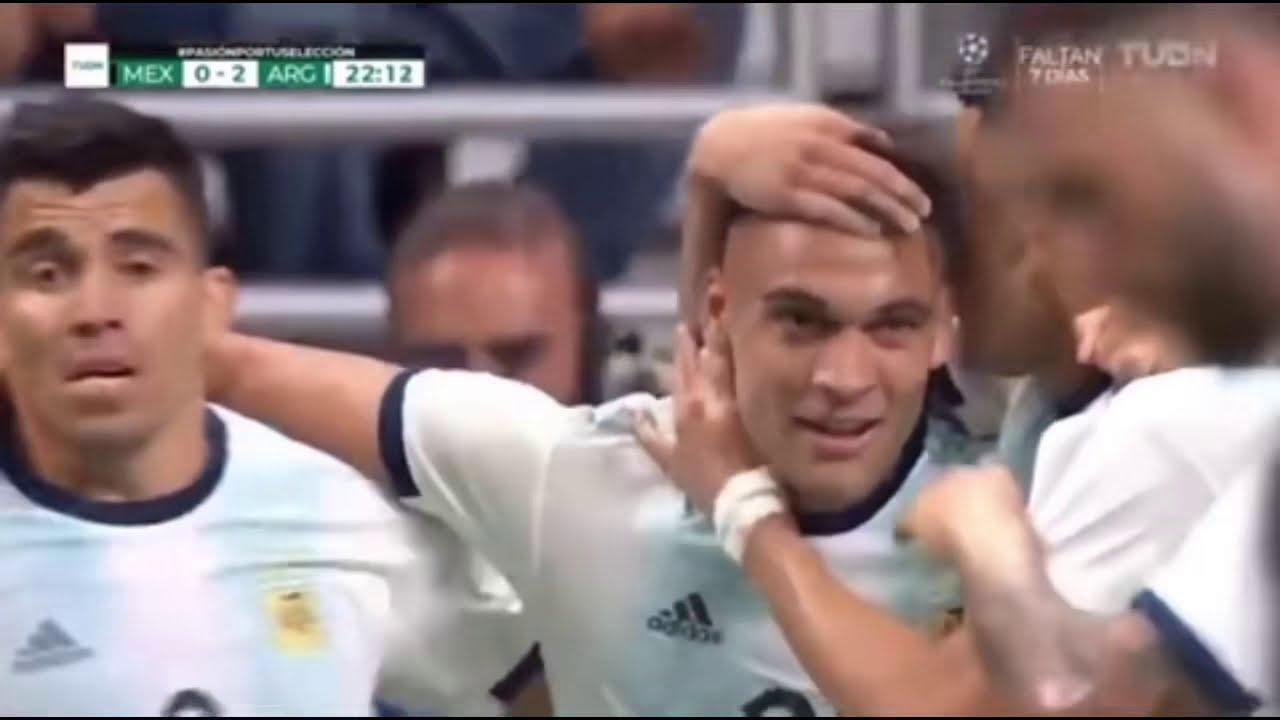 Download México (0) vs Argentina (4) - Partido Amistoso - TUDN - 10 de Septiembre de 2019.