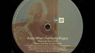 Download Axus - When I Fall In Love (Stryke's Acid Dub Techsture) MP3 song and Music Video