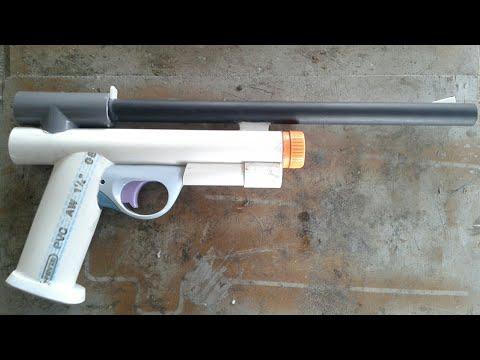 cara membuat pistol kelereng