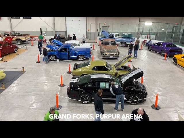 PRIME STEEL CAR SHOW, Grand Forks Saturday & Sunday