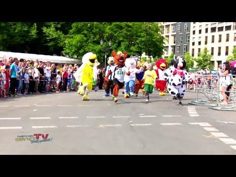 Intern. Deutsches Turnfest Berlin 2017 | Maskottchen Lauf