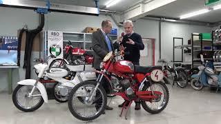 Puch 50 Werks-Motocross von Jarno Saarinen - MC 50