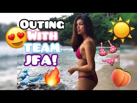 Maine Mendoza Outing With Team JFA!