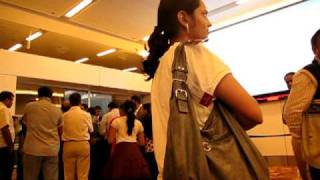 Argument between Passengers and Airport Staff over mismanagement - IGI Airport T3 - Part2