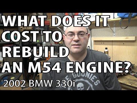 BMW E46 Rebuild Costs #m54rebuild