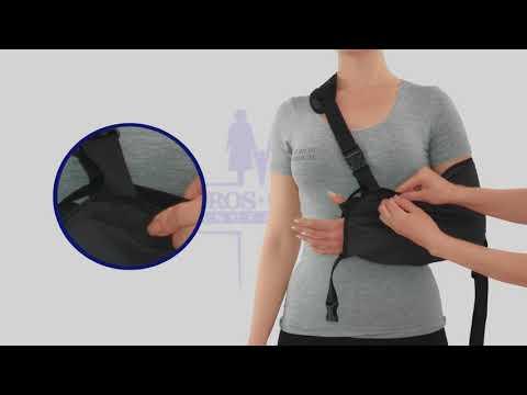 Вопрос: Как сделать поддерживающую повязку для руки?