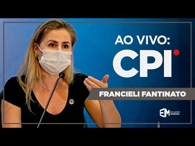🔴 AO VIVO: CPI da Pandemia ouve Franciele Fantinato, ex-coord. do Programa Nacional de Imunizações
