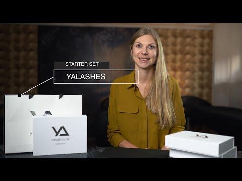 Wimpernverlängerung Volumen Set yaLASHes video