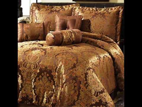 Green and Gold Comforter Sets