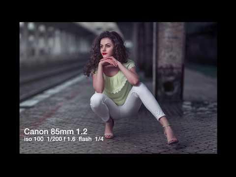 Urban Photoshoot  Godox AD200 + roundflash dish canon 85mm 1.2 sigma 35mm 1.4 art