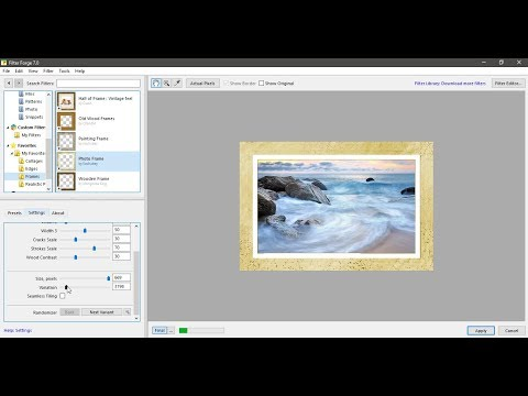 Filter Forge Filters to Create Beautiful Decorative Frames and Photo Edges