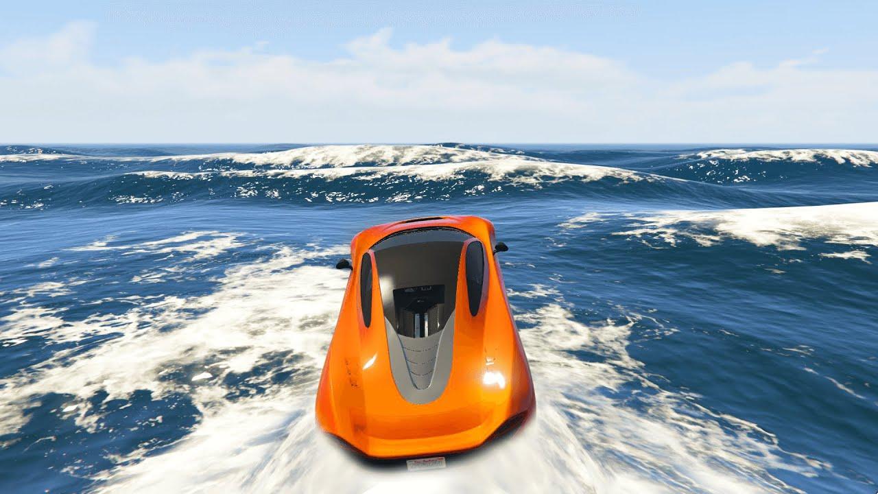 Cars Drive On Water Gta