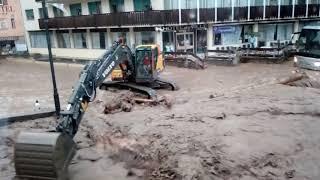 Alluvione Moena luglio 2018