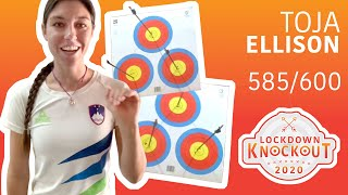 Toja Ellison shoots 585/600 for qualification | Lockdown Knockout
