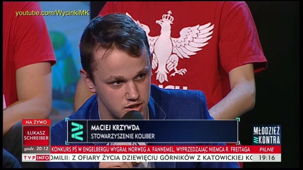 Młodzież kontra 622: Maciej Krzywda (Stow. Koliber) vs Kornel Morawiecki (WiS) 16.12.2017