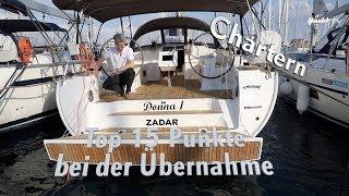 Yacht-Charter #1: Die T๐p 15 der wichtigsten Punkte für die Übergabe