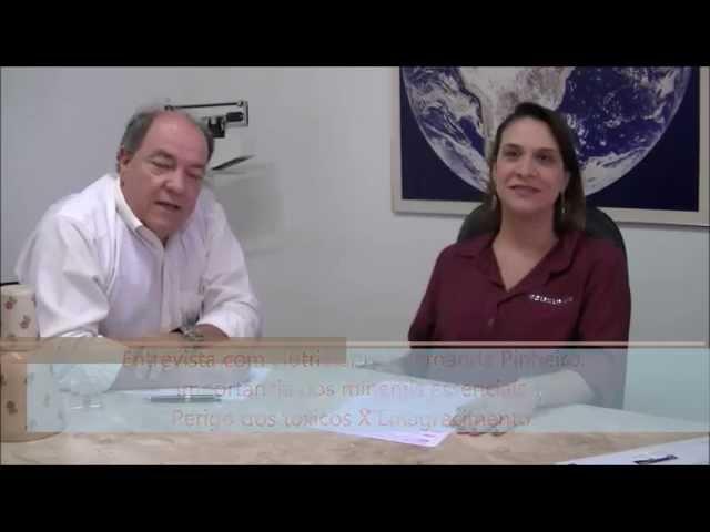 Entrevista Fernanda Pinheiro - Dr. Odimar Pinheiro - Ortomolecular em Campinas - SP Entrevista Fernanda Pinheiro