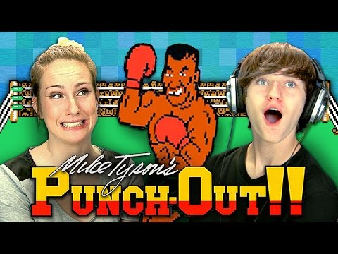 MIKE TYSON'S PUNCH-OUT!! (Teens React: Retro Gaming)