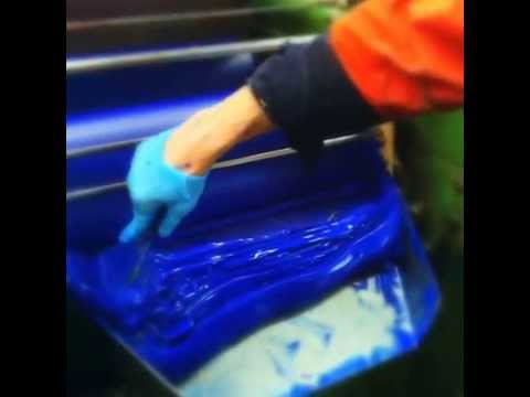 Making Cobalt Blue Paint