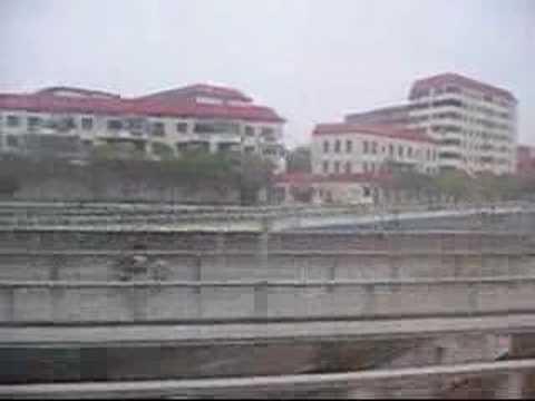 China Passenger Train K105 in JiangXi Province