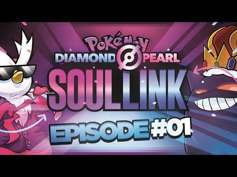 "Pokémon Diamond & Pearl Soul Link Randomized Nuzlocke w/ ShadyPenguinn! - Ep 1 ""SURPRISE!"""