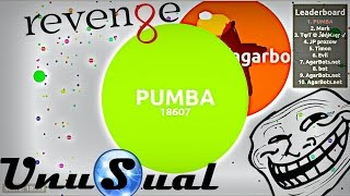 Agar.io UNUSUAL REVENGE / EPIC SOLO GAMEPLAY