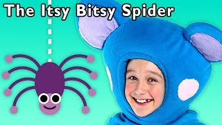 Spider Sing Along  Itsy Bitsy Spider And More  Baby Songs From Mother Goose Club!