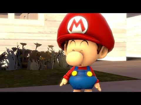[SFM] Baby Mario and Baby Luigi