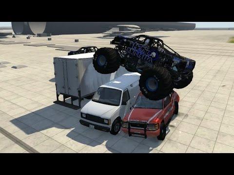 BeamNG.drive - CRD Monster Truck