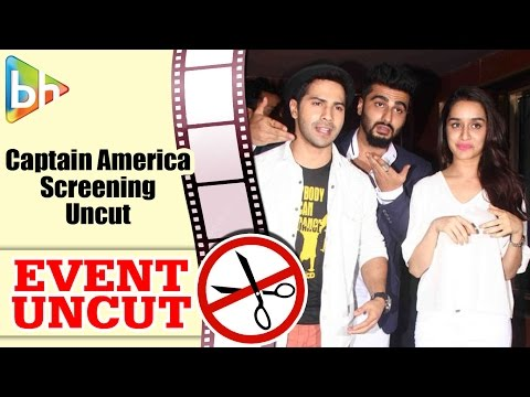 Star-Studded Special Screening Of 'Captain America: Civil War' | Event Uncut