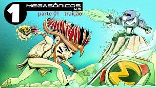 DESENHO ANIMADO COMPLETO | Megasonicos Ep 01 Parte 01