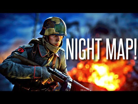 First Look at the NIGHT MAP! - Battlefield 1 Nivelle Nights