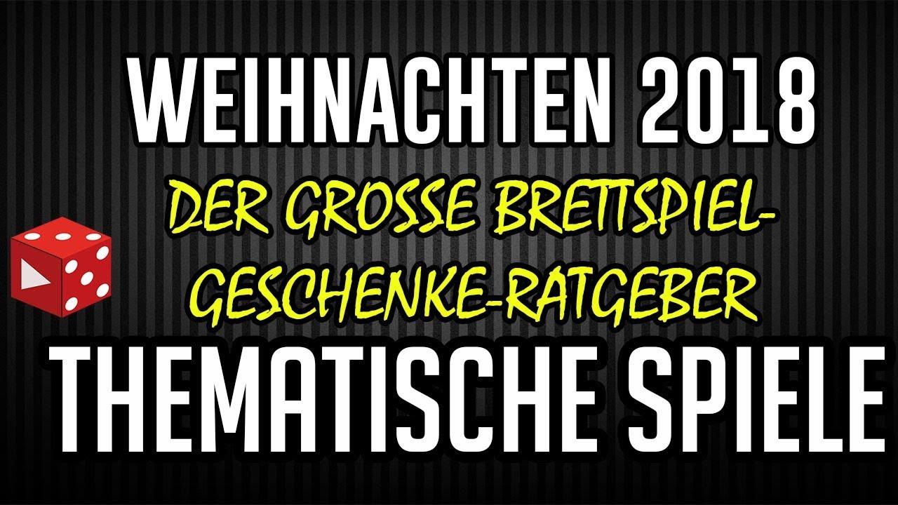 Weihnachten 2018: Thematische Spiele - Der große Brettspiel ...