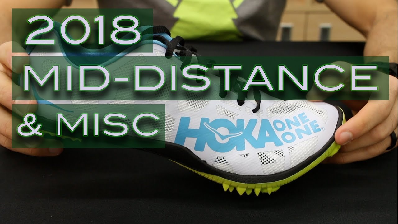 2018 Track Spikes - Middle Distance and