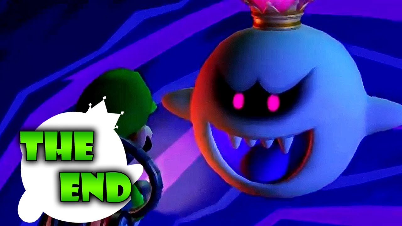 Luigi S Mansion Dark Moon Finale King Boo S Illusion A Nightmare To Remember